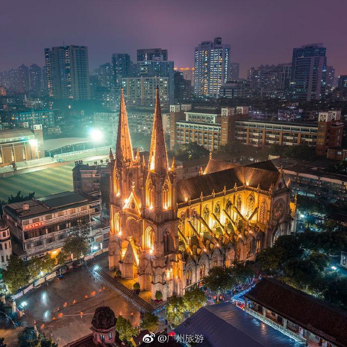 广州石室圣心大教堂高