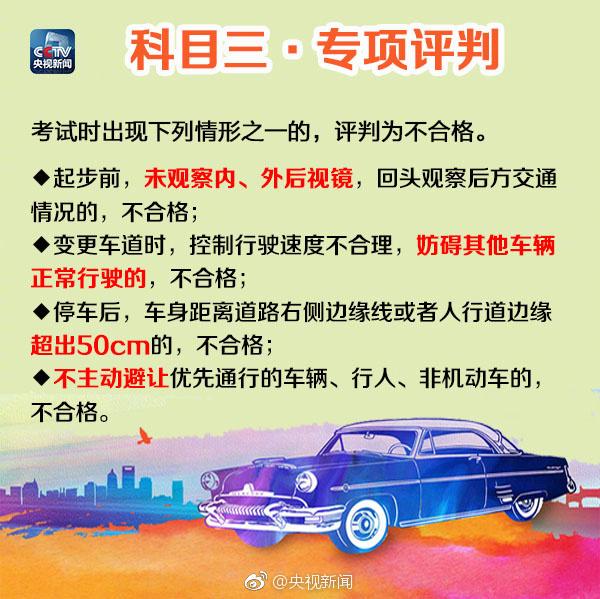惠州2017年驾考新规新增或修改内容汇总