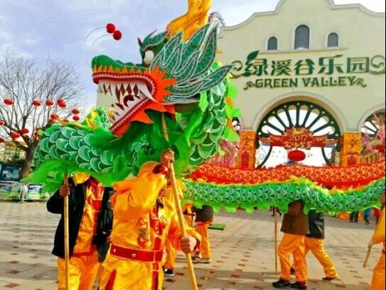 2018保定绿溪谷春节庙会时间+门票