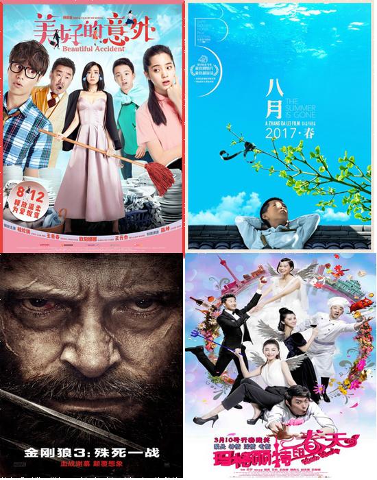 2017年3月上映的电影 2017年3月电影 3月上映的电影 3月电影推荐