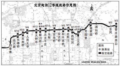 北京地铁12号线最新线路公布 2021年建成通车