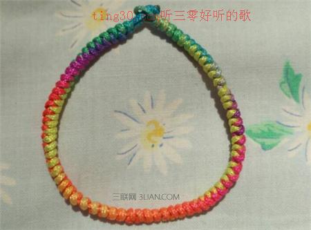 端午节五色绳编法