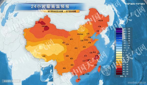 华北酷热消退 江南大部持续高温高湿