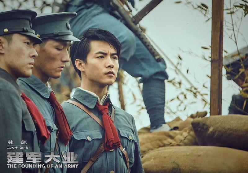 建军大业主要演员:马天宇