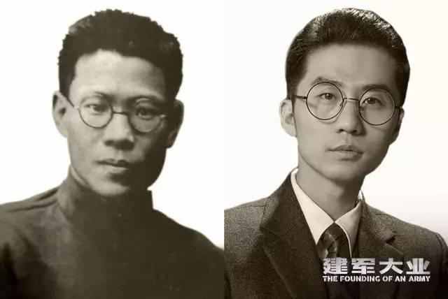 建军大业演员:刘循子墨