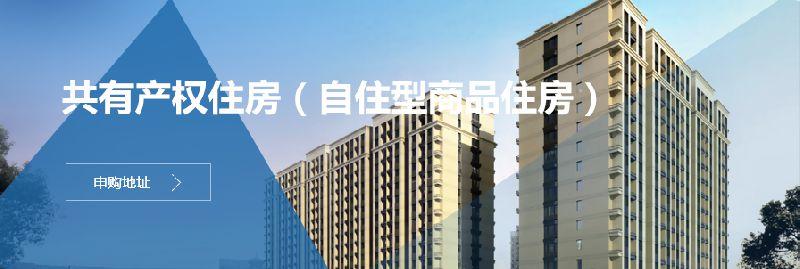 北京共有产权住房申购网站入口戳这里