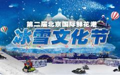 2018北京鲜花港冰雪文化节(活动时间+地点+门票+游玩攻略)