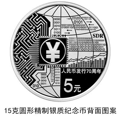 人民币70周年5元银质纪念币购买入口