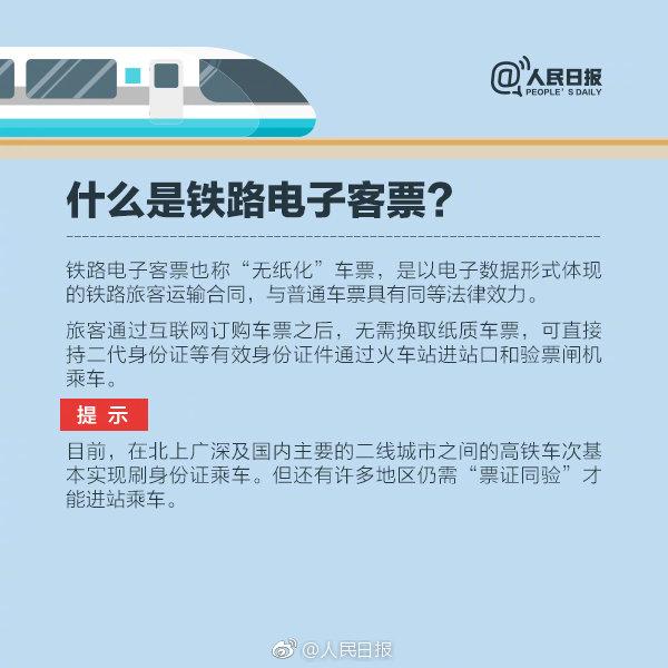 什么叫铁路电子客票?铁路电子客票怎么买怎么用?