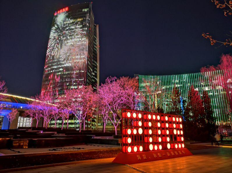 中关村灯光秀时间 将持续至12月30日