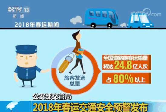 2018年春运即将拉开帷幕 公安部发布春运交通安全预警