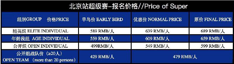 2018北京斯巴达勇士赛时间、地点、报名及奖励
