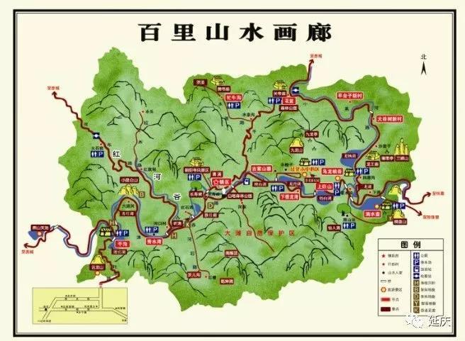 北京延庆百里山水画廊游玩攻略(景区+门票+交通)