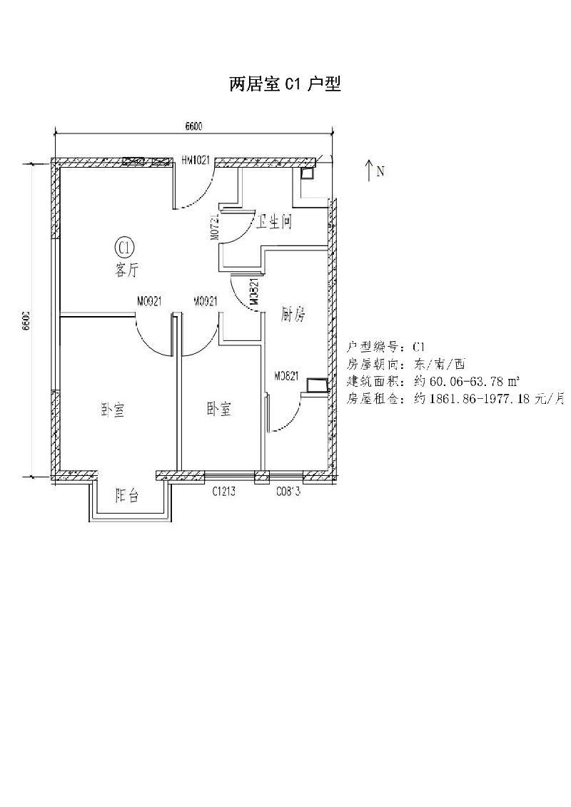 北京通州区台湖银河湾公租房项目选房指南(房源+租金+户型点评)