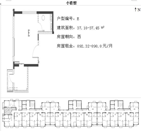 北京通州台湖银河湾等3402套公租房选房攻略(租金+户型分析)