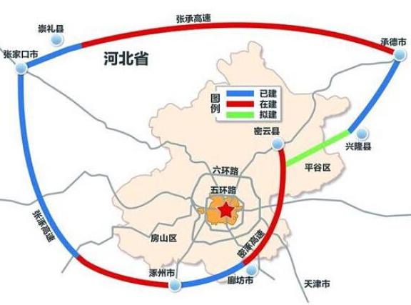 北京大七环最新规划图 北京七环什么时候开通