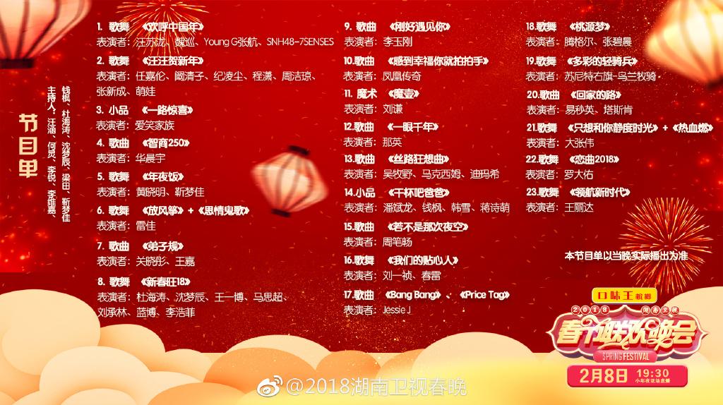 及各大衛視春晚直播入口&節目單   手機搜索微信公眾號【 北京本地寶圖片