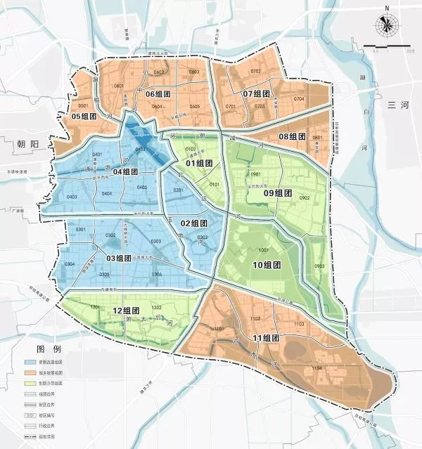 北京城市副中心控制性详细规划有哪些?每个学校医院都能看到!