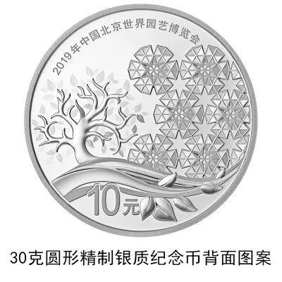 2019年中国北京世界园艺博览会贵金属纪念币发行公告