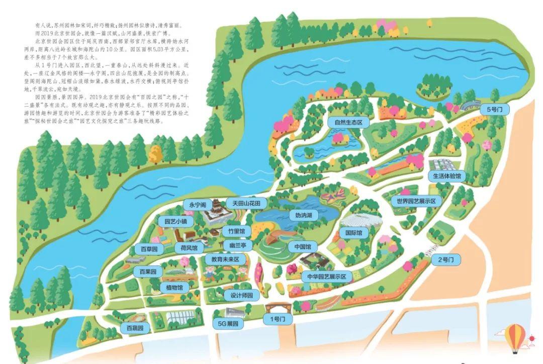 2019北京世园会游览路线浏览时长最全攻略