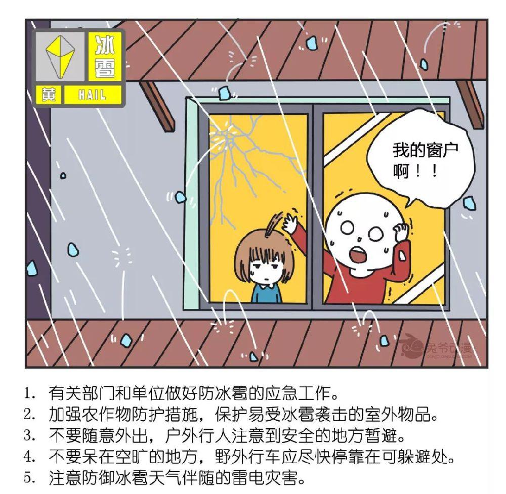 6月12日下班快回家!北京多区发布雷电冰雹预警,明早降雨更大
