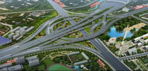 机场大道与长吉高速节点立交桥 互通区年底前力争通车
