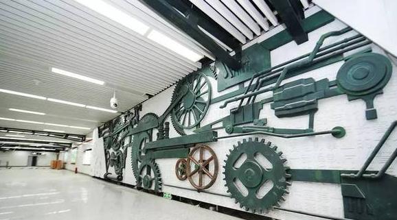 长春地铁一号线最新进展情况(各站点现场图片)