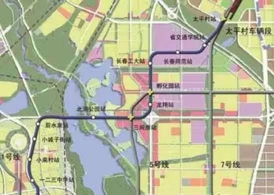 长春未来5年的地铁规划图片 29432 550x391