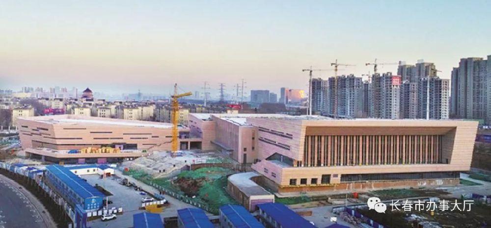 长春市工人体育馆主体完成 预计年底竣工