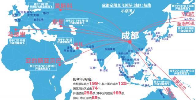 成都飞机航线图_成都直飞的国际航班有哪些?- 成都本地宝
