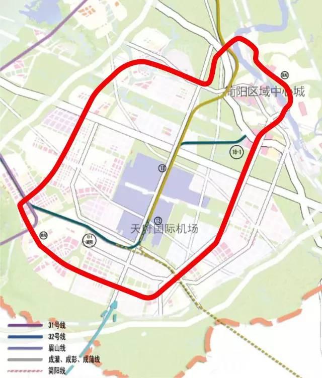 成都地铁简阳线最新消息 站点 线路图 时间图片