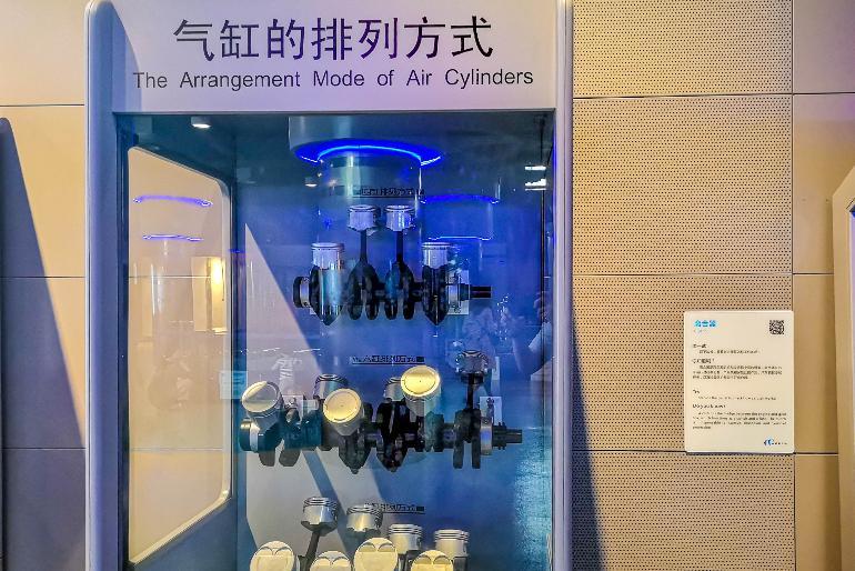 四川省科技馆机械厅展品介绍