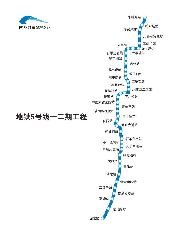 2018年成都在建地铁信息汇总(线路图 概况 最新进展)