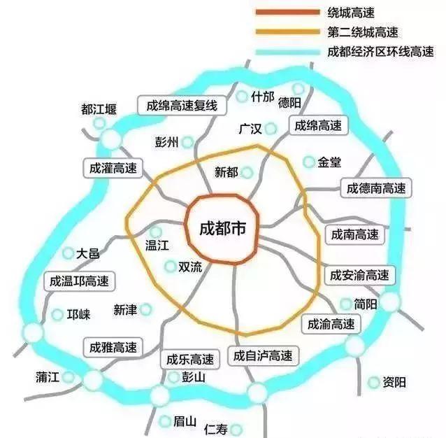成蒲鐵路將通車 邛崍還建了天新邛快速路規劃了地鐵16圖片