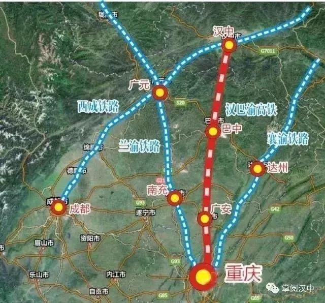 汉巴南城际铁路最新消息 线路可行性研究报告已完成