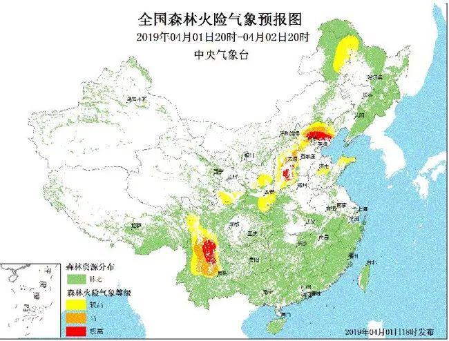 4月2日-8日四川南部等地森林火险气象等级高 注意防火