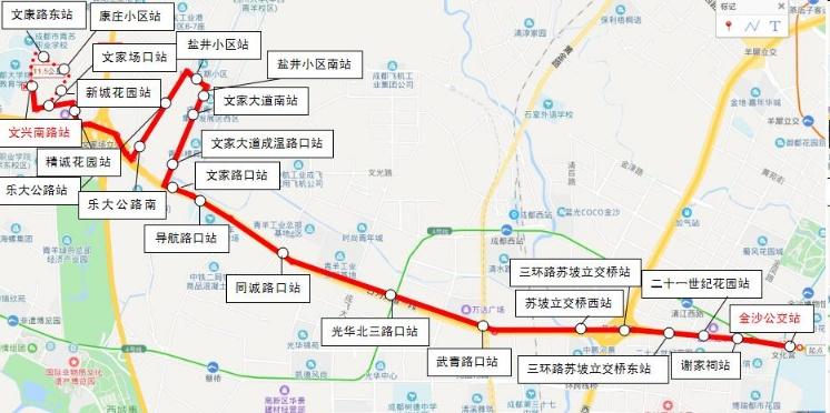 成都日月大道快速公交K5线12日试运行