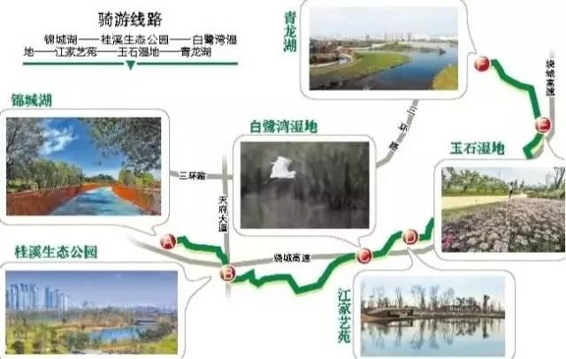 成都锦城绿道一期游玩攻略