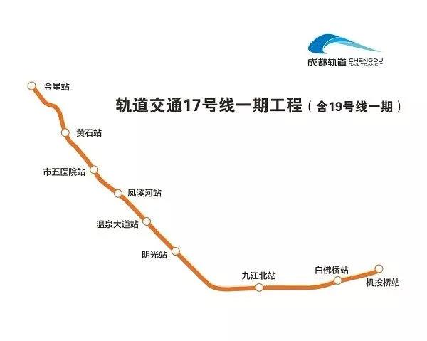 成都地铁17号线最新消息(线路走向 站点 通车时间)
