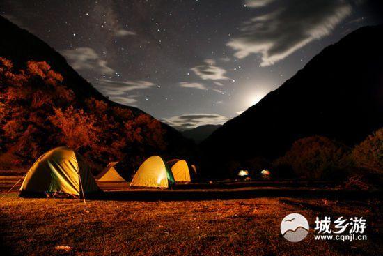 2018重庆露营地点推荐 18个绝佳露营地就在重庆周边