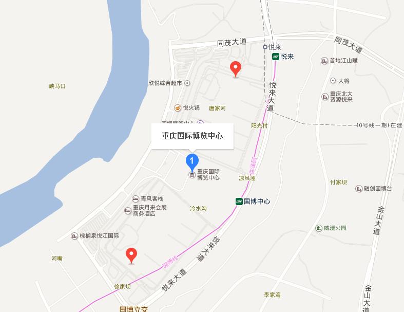 2017重庆车展交通指南(公交+自驾)