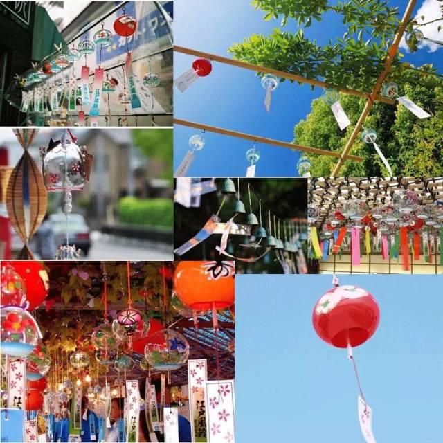 重庆慢城荷塘悦色湿地公园风铃风车节