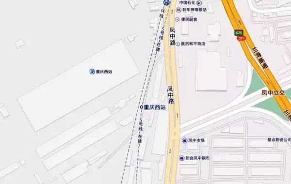重庆西站到重庆北站怎么走