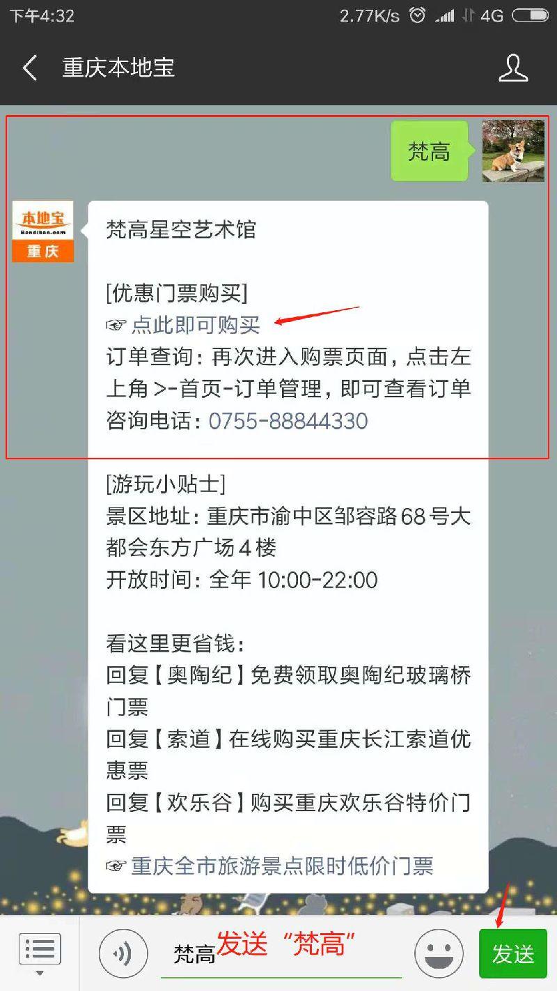 2018重庆梵高星空艺术馆门票、地址和开放时间