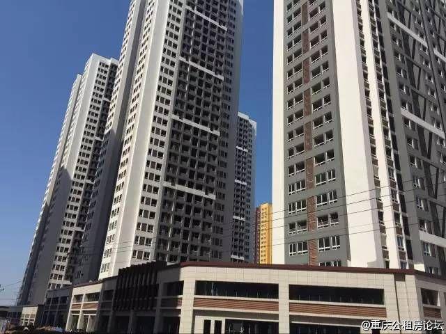 重庆江南水岸公租房户型图