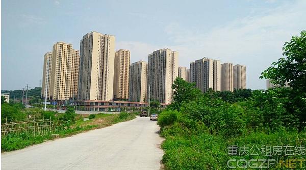 重庆金凤佳园公租房户型图及现场图
