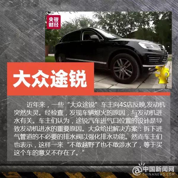 湖州论坛:2018年315晚会曝光名单