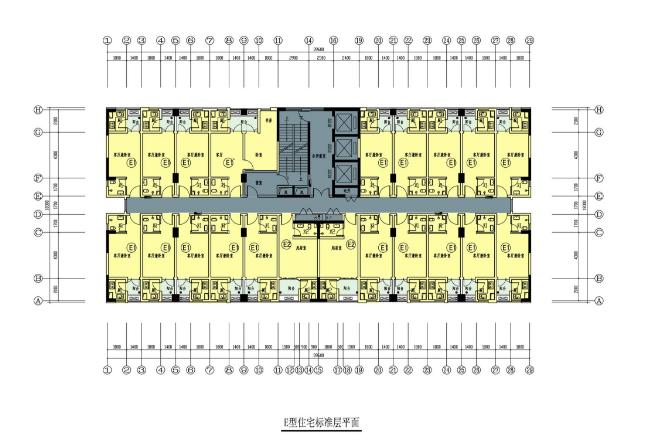 重庆康居西城公租房户型图(面积 楼型)图片