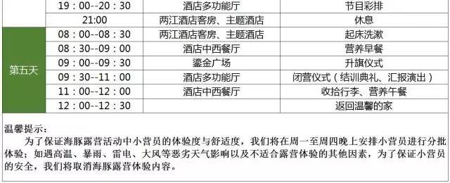 2018重庆乐和乐都童子军夏令营报名方式、费用及日程安排