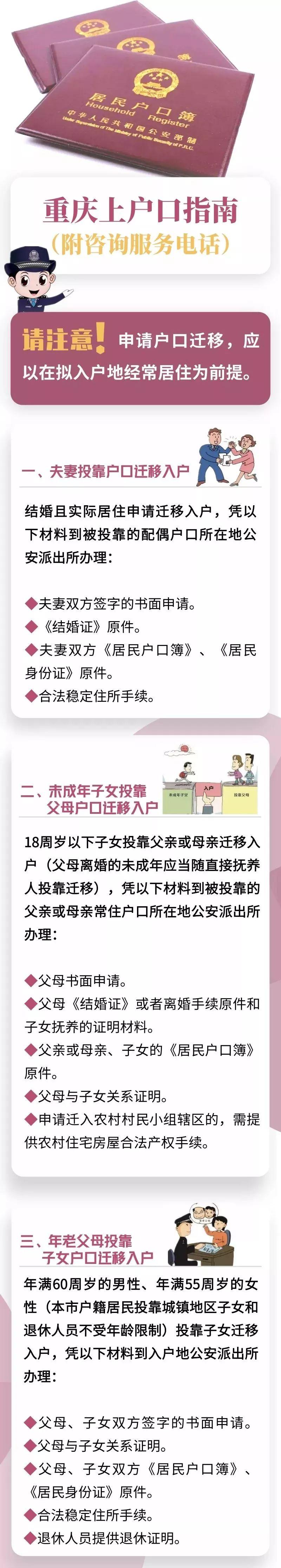 2019重庆人才落户新政策